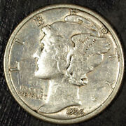 1926 D Mercury Silver Dime ☆☆ Circulated ☆☆ Great For Sets 521