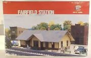 ✅walthers O Fairfield Station Building Kit Accessory O Scale Gauge Passenger