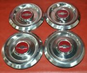 1960s-1980s Gm Chevy 475147 Chevelle Rat Rod Dog Dish Poverty Hubcaps 6.25