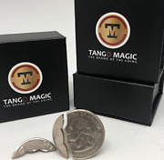 Bite Coin - Us Quarter - Traditional With Extra Pieced0047 By Tango Magic