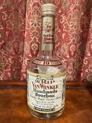 Old Rip Van Winkle Pappy Whiskey 10 Year Squat Bottle Numbered - Rare