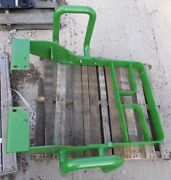 Used John Deere Tractor Hood Grill Guard Aw33721 Aw33715 Aw33716 Sides Weights