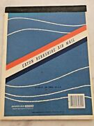 Vintage Eaton Air Mail Paper Pad Sticker And 3 Envelopes