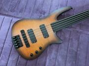 Ns Design Cr5 Fretless - Amber Finish - From Ned Steinberger - Store Demo- Mint