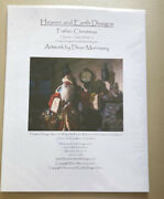 Heaven And Earth Father Christmas Cross Stitch Chart Dean Morrissery Nip