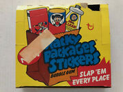 1974 Topps Wacky Packages Series 7 Clean Empty Box