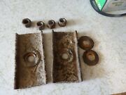 🔥⭐ 1968 1969 1970 Lincoln Mark Iii Seat Track Stud Nuts Reinforcement Plate