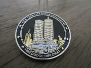 Nypd 1988 Plymouth Fury 1988 Dodge Diplomat Challenge Coin 311f