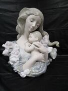 Beautiful Lladro Contentment Large Figurine - Nice Pieceandnbsp- With Box - Rare