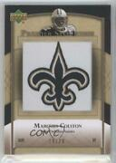 2007 Ud Premier Stitchings Draft/team Logos Bronze /20 Marques Colston Ps-84