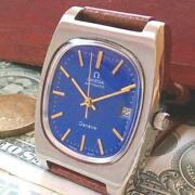 Omega Geneva Antique Men's Watches Automatic Winding Free Shipping No.2233