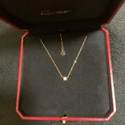 Necklace One-grain Diamond From Japan No.5304