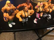Wwf Wwe Early Vintage 1990andrsquos Gently Used Wrestling Action Figures Lot