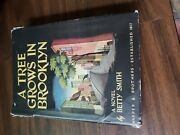 A Tree Grows In Brooklyn By Betty Smith Hardcover, 1943 Harper And Brothers