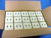600 Ge 2-gang Ivory Unbreakable Switch Cover Wall Plates Wd8105456
