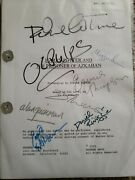 Autographed Harry Potter And The Prisoner Of Azkaban Script With Coa