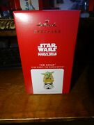 Hallmark 2021 Star Wars The Mandalorian The Child Grogu Ornament Sold Out Onlin