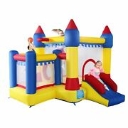 Bounce House Inflatable Castle Kids Jumper Moonwalk Without Blower Commercial