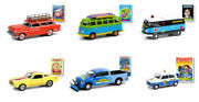 Greenlight Garbage Pail Kids Series 3 Complete Set Of 6 Cars.