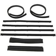 1972-1979 Dodge D And W Pickups Window Beltline And Run Channel Kit