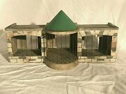 Rare Early Lineol Elastolin Wooden Zoo For Composition Animals