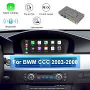 Wireless Carplay Interface Android Auto Bt For Bmw Ccc System 2003-2008 8.8 Inch