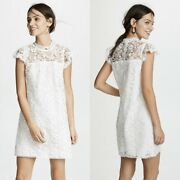 Cupcakes And Cashmere Let There Be Lace Dress Xxl Plus White Summer Sundress New