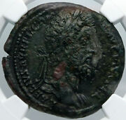 Commodus 192ad Rare Ancient Roman Coin Antique Old Nude Hercules Club Ngc I88696