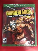 Borderlands Game Of The Year Edition 2019 Xbox One 4k Hdr Enhanced Sold Out