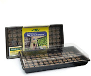 Jiffy Seed Starting Greenhouse With 72 36mm Peat Pellets And Bonus Superthrive S