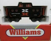 ✅williams New Haven N5c Lighted Caboose W/ Lionel Type Coupler For Diesel Engine