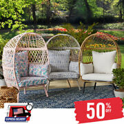 Luxury Homes And Gardens Ventura Stationary Outdoor Kidand039s Egg Chair Us Stock