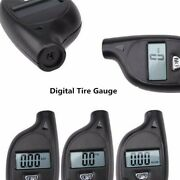 Bar Tire Pressure Keychain Tyre Air Abs 6x3cm Key Ring Psi Cell Battery