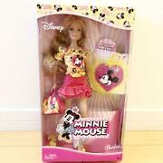 Barbie Doll Disney Collaboration Minnie Mouse Free Shipping No.484