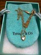 And Co. Heart Necklace From Japan Fedex No.4804