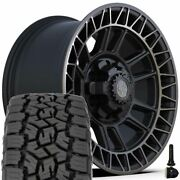 17 Inch 4play Wheels 4ps60 And 265/70r17 Open Country Set For Chevy Gmc