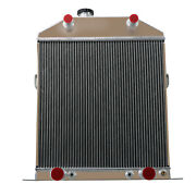 4 Rows Aluminum Radiator For 1942-1948 Ford Mercury Coupe Deluxe Flathead Engine