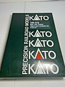 Kato N Scale 106-013 New York Central Smooth Side Passenger Car Set Of 6 Box