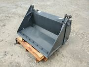 New Cid 48 Skid Steer 4-in-1 Combination Bucket Attachment W/ Cutting Edge