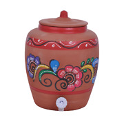 Clay Water Pot Red