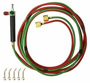 Smith Little Torch Torch Kit 5 Tips 3-7 Acetylene Propane Natural Gas Mapp H...