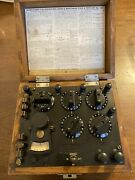 Vintage Leeds And Northrup Type S Test Set No. 5300 Very Nice Condition