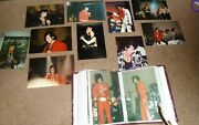 Elvis Presley Impressionist Pete Willcox - 90 Different 4x6 Photographs 1990and039s