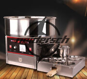 Upgrade Section Commercial Electric Automatic Cotton Candy Machine 1000w 220v