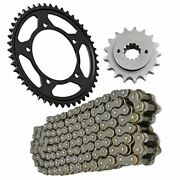 Replacement Chain And Sprocket Kit Fits Yamaha Xs 650 Sh Special 1981-1981