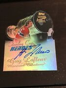 1999-00 Topps Stanley Cup Heroes Guy Lafleur Montreal Canadiens Auto Autograph