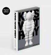 Kaws Book Signed Phaidon Edition Print What Party Ed Of 500 Order Confirmed