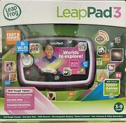 Leapfrog Leappad3 Kids Learning Tablet Educational Learning System, Pink Wifi 4g