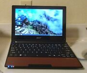 Acer Aspire One D255 10.1in. 320gb 1.66ghz 2gb Notebook/laptop - Red
