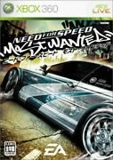 Xbox360 Need For Speed Most Wanted Jp